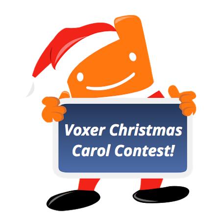 Voxer Christmas Carol Contest!