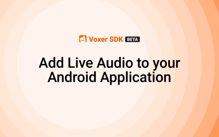 How to add Live Audio to your Android Application